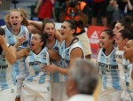 EDMONTON, CANADA - August 13, 2015- Argentina vs Brazil at the FIBA Americas Women 2015. (photo: José Jiménez Tirado/FIBA Americas)
