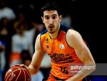 SPAIN, Madrid:  Valencia ´s Spanish player Guillem Vives  during the Liga Endesa Basket 2014/15 semifinals second match  between Real Madrid and Valencia, at Palacio de los Deportes in Madrid on June 7, 2015. (Photo by Guillermo Martinez/NurPhoto) (Photo by Guillermo Martinez/NurPhoto)